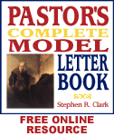 Free Online Resource For Pastors! Pastor's Complete Model Letter Book ONLINE!